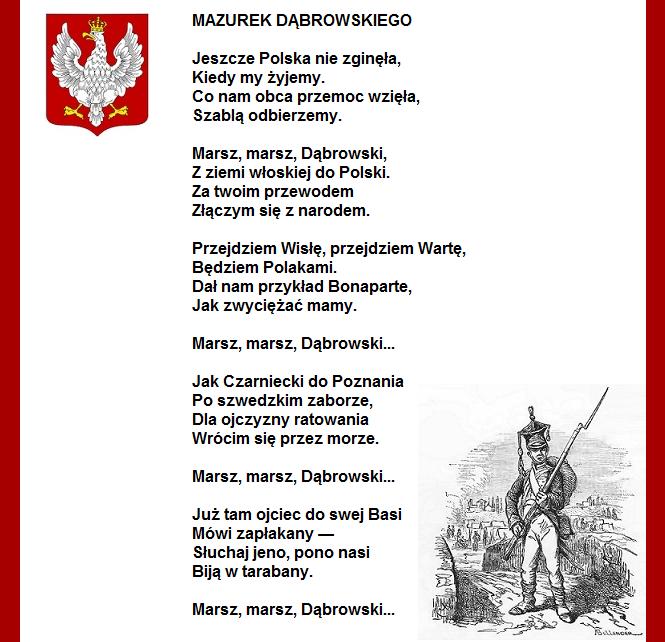 Czy słowa polskiego hymnu ulegną zmianie? – Magna Polonia