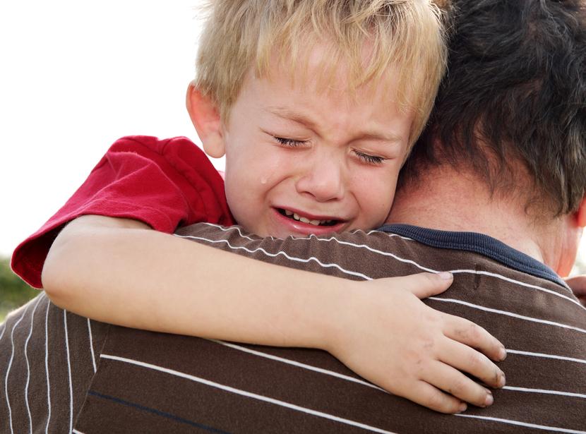 Расставание ребенок