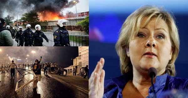 Norwegia przygotowuje się na upadek Szwecji  -  Facebook zdradza kim są imigranci w Niemczech